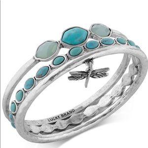 Lucky Brand Turquoise Bracelet Set